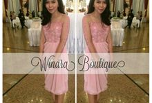 Bridesmaid Dress and Prom Dress by Winara Boutique