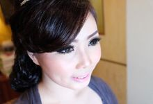 Wedding Makeup for Ms Tina by VONYTJAN