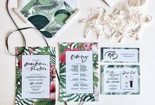 Collection of Bespoke Wedding Invitations by KidGolightly Calligraphy