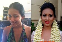 Make up wedding ceremony by Maharanee Make Up Artist