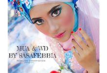 rias pengantin muslim by sasafebbia makeup and wedding decorations