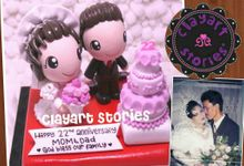 Wedding Clay by Clayart Stories