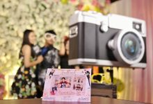 Marvel & Cindy Wedding by De Gallery Photobooth