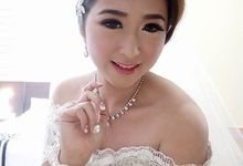 Wedding day Jon & Wilen by Meicen Professional Makeup Artist