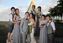 Wedding of Karen Lee and Kevin Li by Conrad Bali