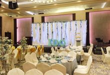 Wedding Dinner at Carlton Hotel Singapore by Pedestalworks