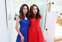 Caroline Kosasih Signature fashion show by AngelineThresdy Makeup Artist