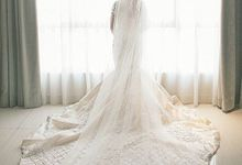JEFFRY & CALISTA WEDDING DAY by Tinara Brides