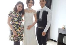 Wedding makeup for Yeny by Emily Surjo Makeup Artist