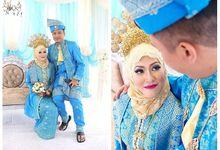 Hafiz + Miunirah by Azee Photographyical