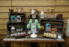 rustic theme by Miracles Cakes