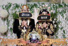 Wedding Photobooth by Riviera Photobooth