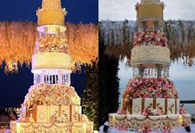 7 tier wedding cake for Ifan dan Dylan by breadseason