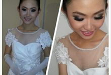 International Bridal Exam by makeupbypaupau