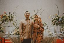 Engagement of Novi and Tyo by Seserahan by Rose Arbor