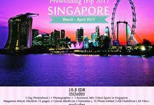 Prewedding to Singapore by rockyjansen photography