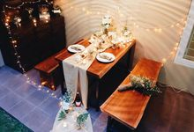 Rustic Theme Romantic Dinner by Clea's Project