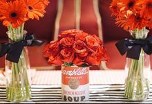 Pin-Up Girl Theme Bridal Shower by Clea's Project