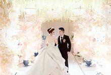RICKY & NORISSA WEDDING by Adeline Makeup