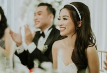 The Wedding of Mr. Michael & Ms. Cindy  by Ilona Headpiece & Crown
