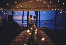 Nadya & Kristof by Wonderland Bali Events