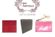 small leather goods by Tuberosa Souvenir