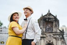 Franc and Jhoan Intramuros Engagement Session by Primatograpiya Studios