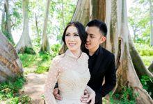 Davin & Yunisa Prewedding Makeup and hairdo by Michelle Chrysentia