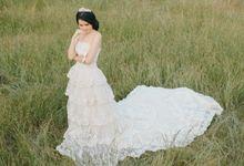 wedding  gown by brides_friend