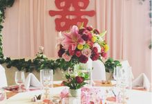 Chinese - Korean Engagement Decoration by Pepper Suite Events