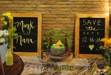 Cakes by M Cakes Studio