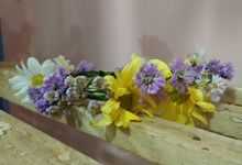 Fresh Fower Crown samples by Se Leva Florist