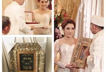 Wedding of Erlia and Noval by Seserahan by Rose Arbor