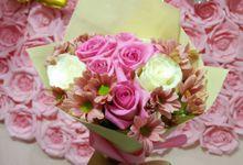 Ridwans wife birthday bouquet by Se Leva Florist