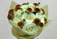 Sherlys Wedding Bouquet by Se Leva Florist