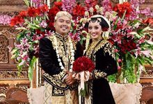 The Wedding of Dera and Primayuda by Seserahan by Rose Arbor