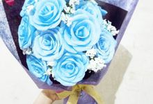 Premium Paper Flowers by Little rosebud