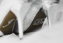 Wedding and Photo Shoot shoe accessories by Clean Heels Singapore