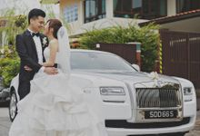White Rolls Royce Wedding Car by Ultimate Drive
