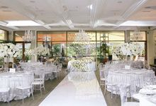 Snow-white wedding by Maria German decor