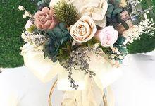 Bridal hand bouquet  by Petal Co.