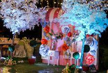 Wedding at Hongkong Garden by Corilux Art Decoration Florist