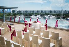 Rooftop Terrace Solemnization by ONE°15 Marina Sentosa Cove, Singapore