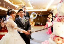 Sweet romantic wedding by Grand Tjokro Hotel Bandung