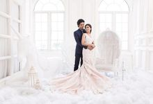 The Wedding of Hanis and Lia by Seserahan by Rose Arbor
