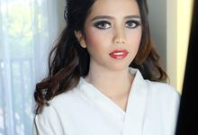 Febri wedding  by Amanda Makeup Artist