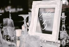 The Wedding of Johan & Carrie by Pi Calligraphy