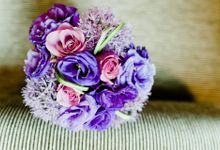 Bridal Hand Bouquets by Sing See Soon