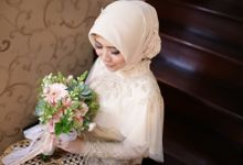 Raisha & Poundra Engagement by Garland Galore Flower Shop