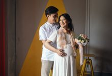 Nurina Maternity Shoot by Garland Galore Flower Shop